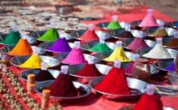 Indian hindu paints Stock Image