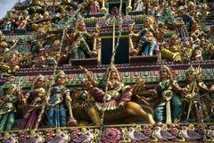 Indian Hindu Temple Stock Image