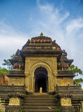 Indian Hindu Temple with Nandi Stock Image