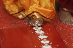 Indian hindu wedding rituals Royalty Free Stock Photography