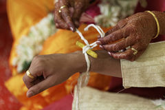 Indian hindu wedding rituals Royalty Free Stock Image