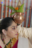 Indian hindu wedding rituals Stock Photo