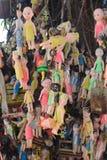 Indian hinduists praying Stock Images