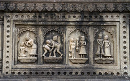 Indian Historic Carving Royalty Free Stock Photo