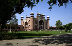 Indian Historic Mughal Architecture Stock Photo