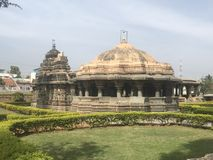 Indian historic temple architecture and design art royalty free stock photography