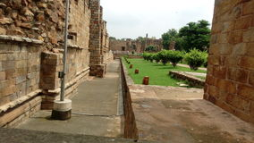 Indian historical place. Kutum minar In delhi stock image