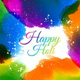 Indian holi festival colors. Vector illustration Royalty Free Stock Photos
