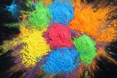 Indian Holi festival colours Stock Image
