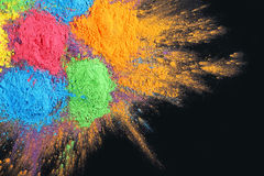 Indian Holi festival colours Stock Photos