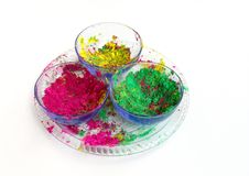 Indian Holi festival colours Stock Image