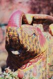 Indian Holidays Elephant colours Figure. Day light Royalty Free Stock Images