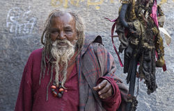 Indian Holy Man Stock Photos