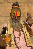 Indian holy man Royalty Free Stock Image