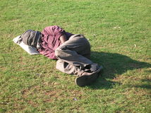 Indian Homeless Person Royalty Free Stock Photos