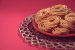 Indian Recipe Murukku Stock Photos