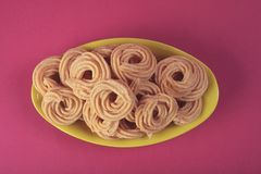 Indian Recipe Murukku Royalty Free Stock Photos
