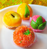 Indian homemade sweets royalty free stock image
