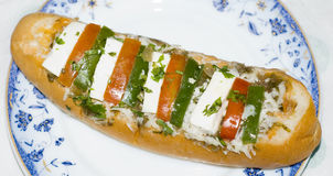 An Indian Hotdog Stock Image