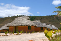 Indian hut canaima Royalty Free Stock Photography