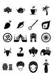 20 Indian Icons Stock Photos