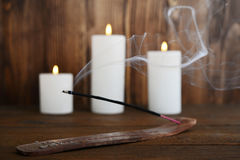 Indian incense stick Royalty Free Stock Photography