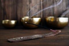Indian incense stick Stock Photos