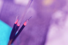 Indian incense sticks Royalty Free Stock Image
