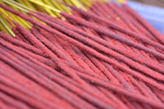 Indian incense sticks Stock Image