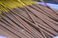 Indian incense sticks Royalty Free Stock Photography