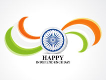 Indian independence day background banner with ashok chakra Royalty Free Stock Images