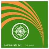 Indian Independence day design card vector. This Vector EPS 10 illustration is best for print media, web design, application design user interface and stock illustration