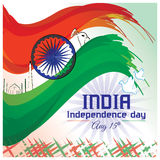Indian Independence day-Poster vector illustration