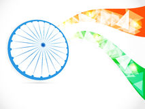 Indian Independence Day/ Republic Day background w. Indian National Festival background Stock Photos