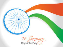 Indian Independence Day/ Republic Day background w. Indian National Festival background Stock Images