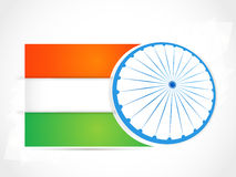 Indian Independence Day/ Republic Day background w. Indian National Festival background Royalty Free Stock Images