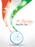 Indian Independence Day/ Republic Day background w. Indian National Festival background Stock Image