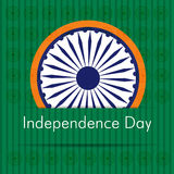 Indian Independence Day sticker Royalty Free Stock Photos