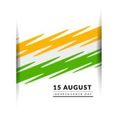 Indian Independence Day vector background Royalty Free Stock Photo