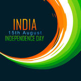 Indian independence day. Vector indian background with space for your text Royalty Free Stock Photo
