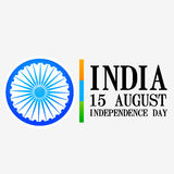 Indian independence day. Vector indian independence day design Vector Illustration