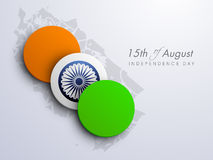 Indian Indepndence Day Background Royalty Free Stock Images