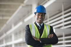 Indian industrial engineer at work. Stock Photo