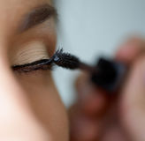 Indian ink make-up Stock Images