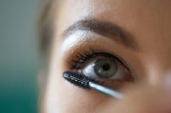 Indian ink make-up Stock Image