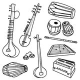 Indian instruments Stock Photo