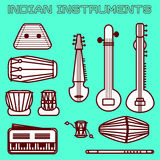 Indian instruments Stock Photography