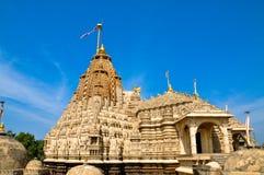 Indian Jain temple. At Palitana,Gujarat Stock Photos