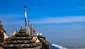 Indian Jain temple. At Palitana,Gujarat Stock Images