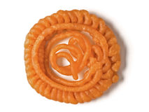 Indian jalebi sweet Stock Photography